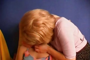 older lesbo doxy and her young part6