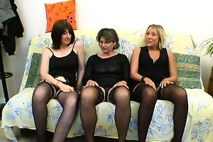 older christelle drilled in a groupsex