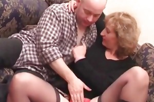 blonde aged acquires cookie teased