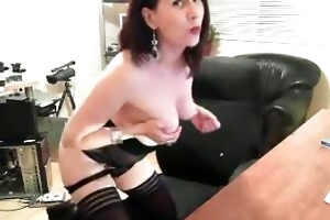 astounding hawt and hawt black haired doxy