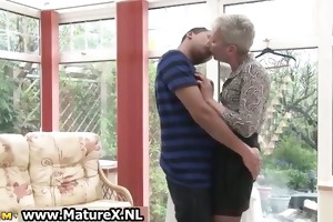 concupiscent shorthaired old mama enjoys part5