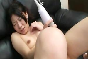 shizuka saeki - nippon wife shaved bawdy cleft