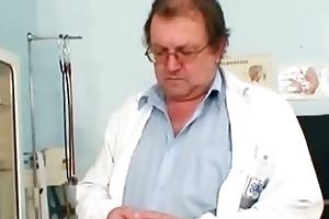 big tits corpulent mama rosana gyno doctor
