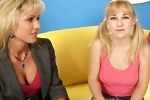 mother daughter ramrod engulf and fuck