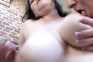 lascivious old wives with giant tits getting part4