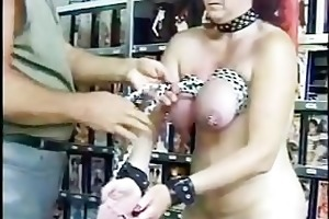 aged redhead bra buddies receive blue from rope