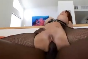 hawt mother i in fishnets acquire her butt fucked
