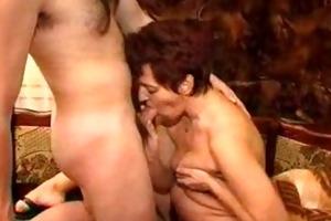 older mom does her neighbour