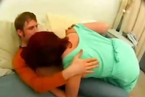 russian aged cougar acquire facial