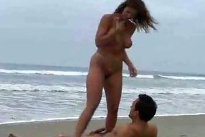 public fuck by the ocean