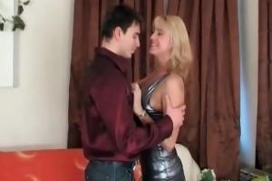 blond vixen fucked by juvenile man