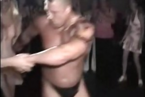 spying drunk mommys in strippers bar