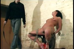 hardcore sadomasochism and brutal punishement