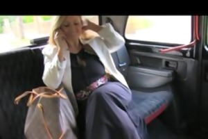 faketaxi slutty after interview and gagging for