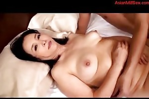 bulky aged woman drilled by youthful lad creampie
