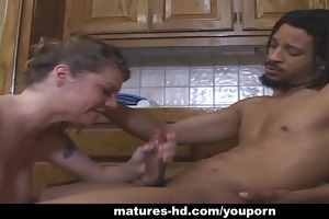 older interracial act with a hawt mother i