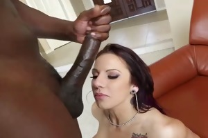 lylith lavey acquires biggest facial spunk
