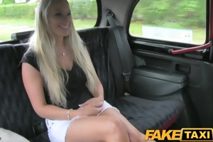 faketaxi super hawt south african golden-haired
