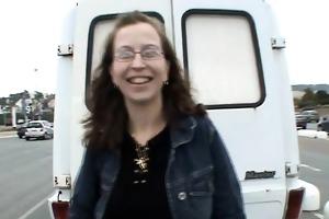 virginie group-fucked into a van