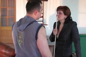 russian mamma viola copulates youthful boy
