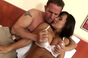 lisa ann sleeping cutie has a cock wake up call