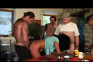 coarse anal fuck and fisting group sex with our