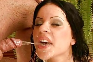granddad fucking and pissing on youthful angel
