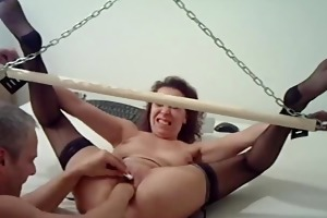 extraordinary non-professional wife fisted in