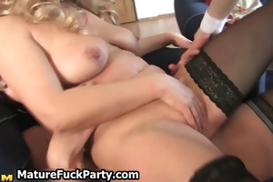 four hawt mature housewifes getting part3