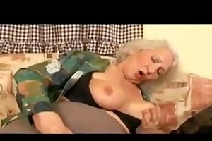busty granny getting drilled
