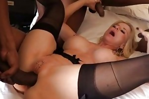 perverted aged craves an interracial group sex