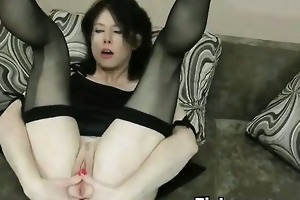 fist pegging and perversion for hawt babe