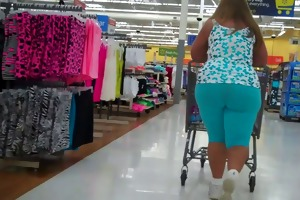 large ass older big beautiful woman blue tights..