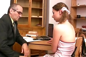 oral-job for aged teacher