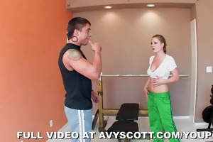 war machine gives mother i avy scott a workout