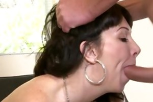 daughter catches mamma getting butt drilled