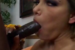 hot breasty floozy anna nova interracial sex