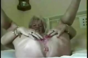see anus contractions of real pervert granny.