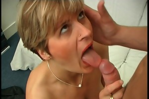 french mommy acquires anal fucked by a young man