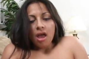 latin babe mommy tit copulates and pounded hard