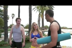 hawt wife amber ashlee ditches spouse to fuck her