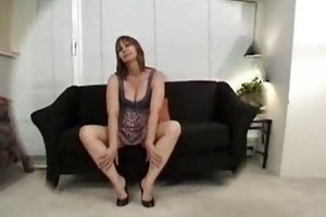 older wench kissing ass!