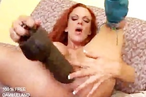 doxy takes biggest sextoy and can it......