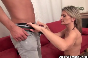 hot older mother i sucks and bonks dick on the