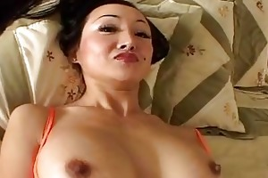 lengthy haired mother i ange venus engulfs a big