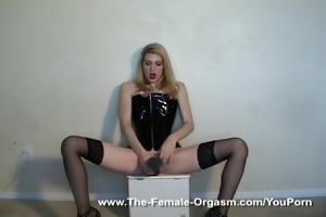 d like to fuck bonks sex toy then rubs one out -