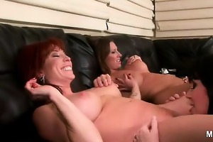 breasty mother i devon lee leads this scorching