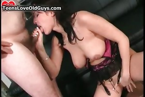hot brunette sweetheart goes insane jerking part6