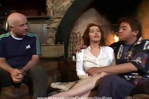 redhead swingers bonks for hubbys approval