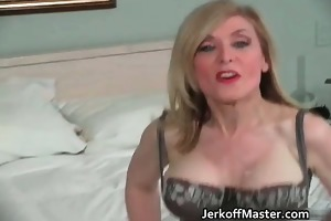hot blond mother i is stripping